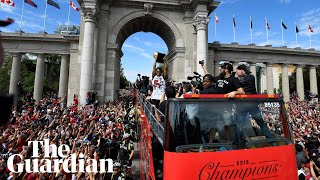 Toronto Raptors' victory parade marred by shooting and stampede