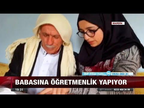 Onu okula göndermeyen babasının öğretmeni oldu  - 24 Kasım 2017