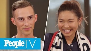 Adam Rippon Admits Harry Styles Is His Celebrity Crush & Chloe Kim Says Hers Is Zayn! | PeopleTV