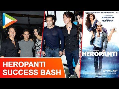 Aamir Khan Salman Khan At Heropanti Success Bash video