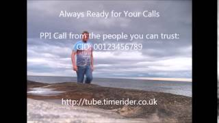 PPI telemarketer from 00123456789