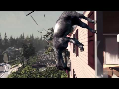 Goat Simulator Launch Trailer