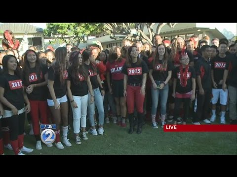 Iolani School celebrates Homecoming Week: Homecoming Traditions - 10/10/2014
