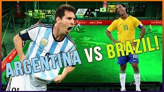 FIFA STREET 4 - PANNA GAMEPLAY - BRA vs ARG