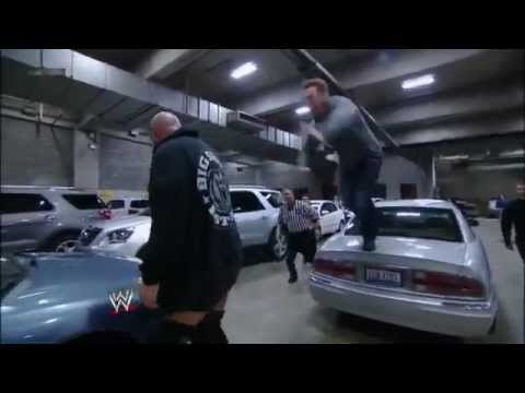 WWE Smackdown 11/16/12- Sheamus vs Big Show brawl in the parking lot Full Show