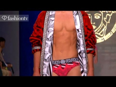 Versace Full Show ft Francisco Lachowski - Milan Men's Fashion Week Spring 2012 | FashionTV - FTV