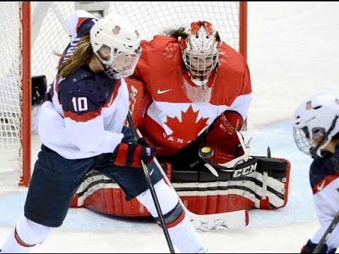 Canada vs USA Women's Hockey - Olympics 2014