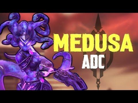 Medusa ADC: HEAD TOO HEAD AGAINST ELLOCOTIGRE! - Incon - Smite