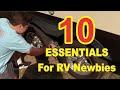 10 Essentials for RV Newbies