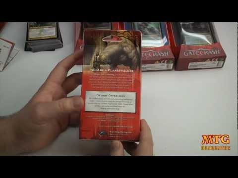 Orzhov Oppression Gatecrash Magic The Gathering Intro Pack Opening & Review