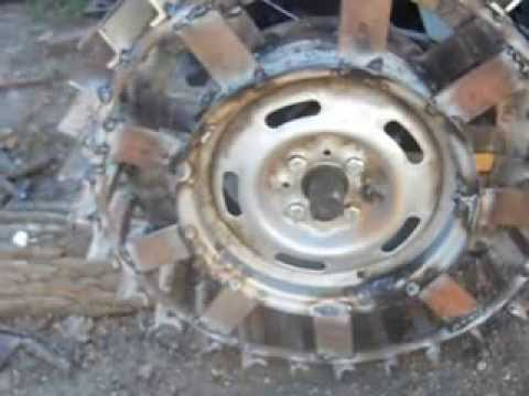 Грунтозацепы к мотоблоку своими руками из дисков