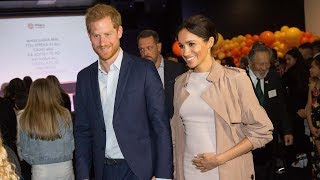 Prince Harry Says He's 'Ready' to Be a Dad in Sweet Royal Tour Moment
