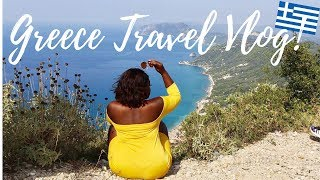 CORFU, GREECE TRAVEL VLOG!