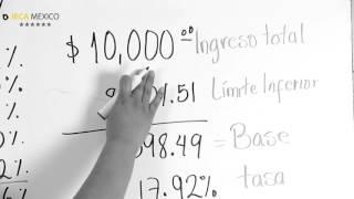 ¿Cómo calcular el ISR