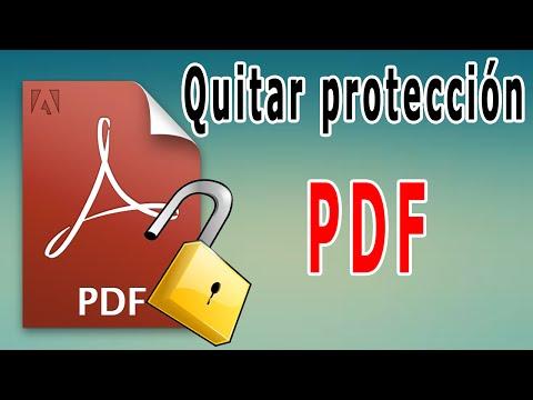 convertir a word un pdf protegido