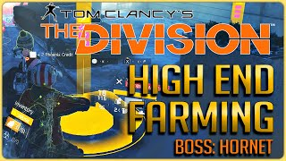 The Division: Hornet Boss Farm (Russian Consulate) Unlimited HIGH END Farming Guide!