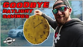 Good Bye Daylight Savings Time Hello Extra Sleep - Vlog