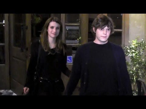 Emma Roberts And Boyfriend Evan Peters Attend Jaime King's Birthday Party