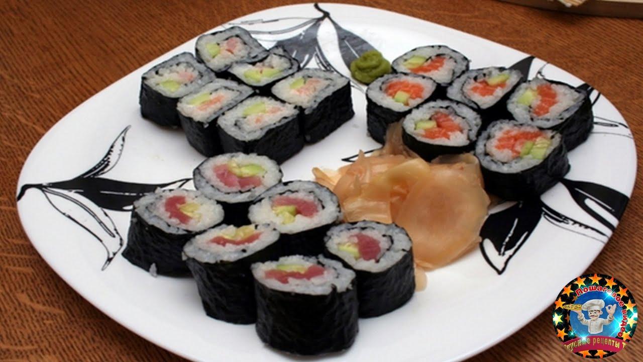 Простые рецепты японской кухни в домашних условиях