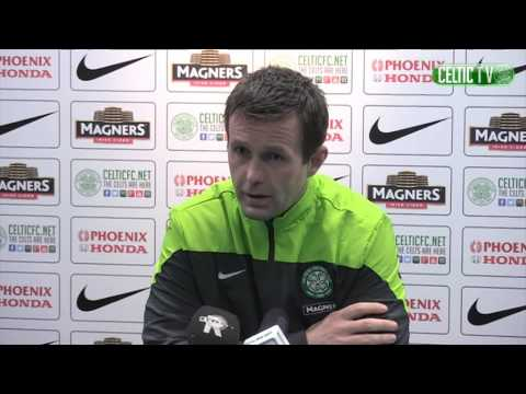 CELTIC FC - Ronny Deila post match St Johnstone 04/03/2015