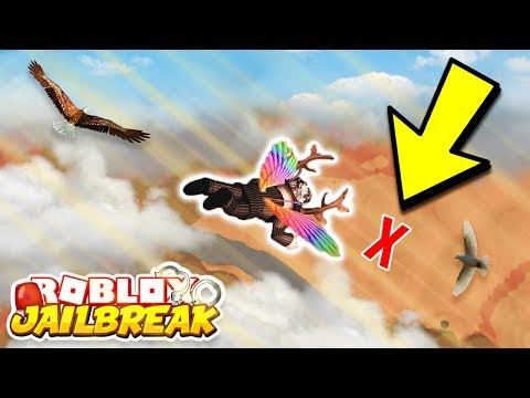 ROBLOX JAILBREAK SKYDIVING USING ROCKET FUEL GONE WRONG