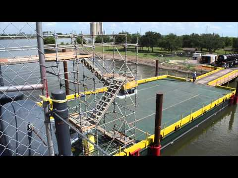 Battleship Texas Project: Structural Repairs and Dry Berth
