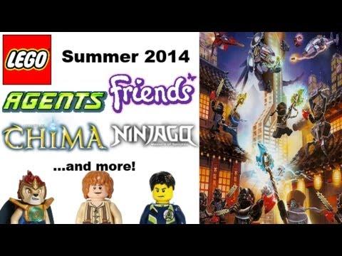 Lego Chima 2014 Summer Sets Summer 2014 Lego Ninjago
