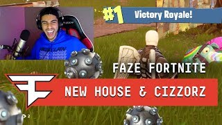 FaZe Gaming House & FaZe Cizzorz play Fortnite: Battle Royale!