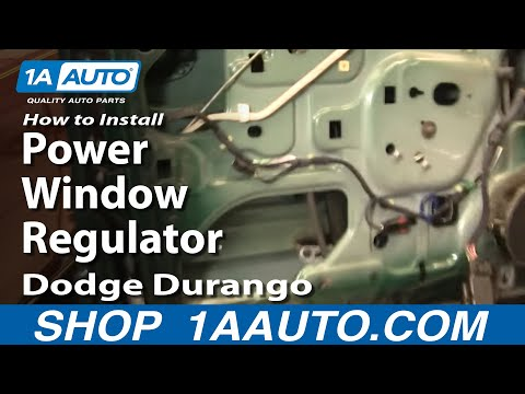 How To Install Replace Power Window Regulator Dodge Durango 98-03 1AAuto.com