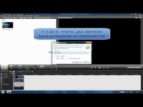 Cómo extraer el audio de un vídeo propio (Camtasia Studio 7)