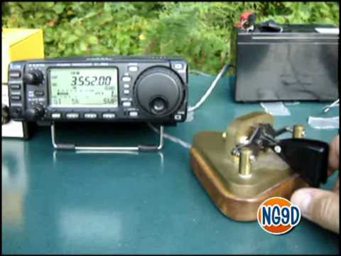 Camp Antenna 80m Demo