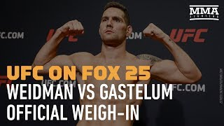 UFC on FOX 25 Official Weigh-in Video - MMA Fighting