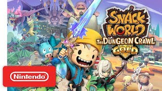 SNACK WORLD: The Dungeon Crawl - Gold Announcement Trailer - Nintendo Switch