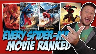 All 7 Spider-Man Movies Ranked!