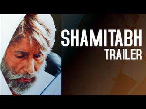 Shamitabh Official Trailer RELEASES ft Amitabh Bachchan, Dhanush, Akshara Hassan