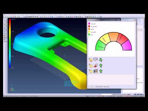 VISI CAD/CAM Mould Design, Electrode Extraction, Plastic Flow Analysis