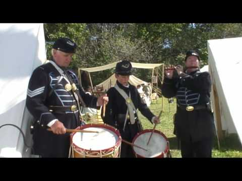 Civil War  Drummer in Angelica,NY 2009