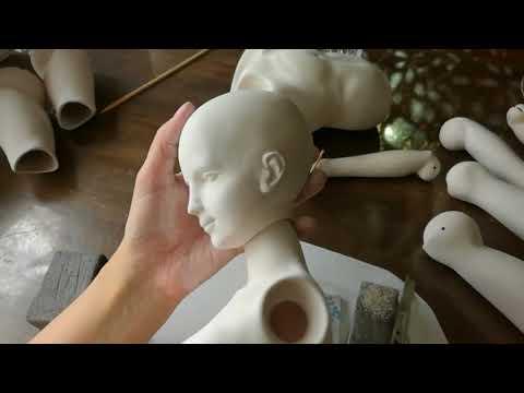 Мастер класс по созданию кукол из полимерной глины 127