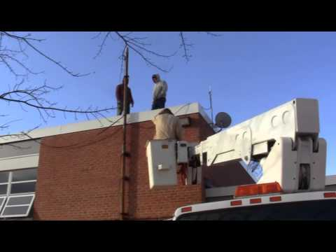 Antenna - Install - Floyd County High School