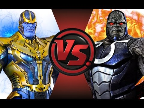 THANOS vs DARKSEID! Cartoon Fight Club Episode 54!