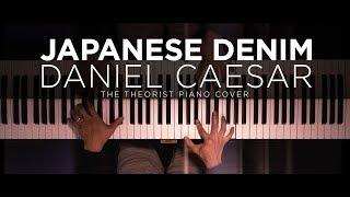 Daniel Caesar - Japanese Denim   The Theorist Piano Cover