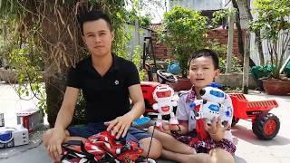 Trò Chơi Đi Mua Robot ❤ ChiChi ToysReview TV ❤ Đồ Chơi Trẻ Em Video Thiếu Nhi Cho Bé