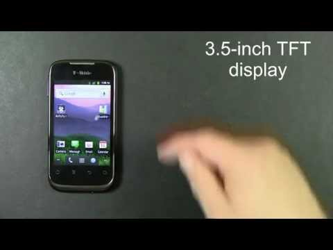 T-Mobile Prism Smartphone Quick Look