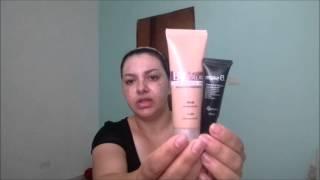 Maquiagem básica para pele com melasma