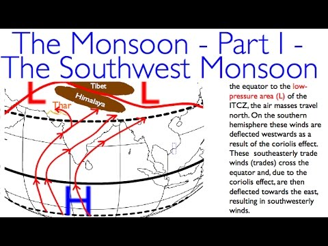 The Monsoon - Part I - The Southwest Monsoon