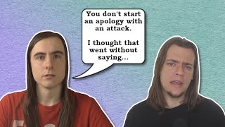 Rationality Rules Non-Apology & Tone Policing - A Critical Response