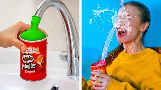 TOP SIBLING PRANKS! Trick Your Sisters and Brothers || Funny DIY Pranks by 123 GO!