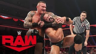 Randy Orton vs. Drew McIntyre: Raw, Jan. 20, 2020