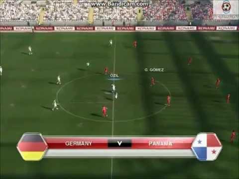 PES 2014| IFSA World Cup 2014 USA| Germany vs Panama