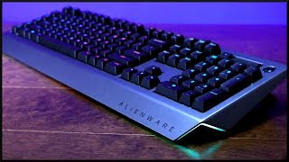 Alienware Pro Gaming Mechanical Keyboard Review!